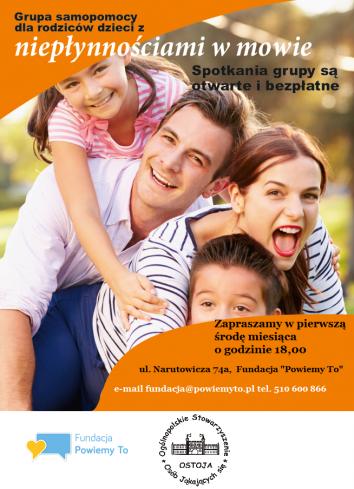 Grupa wsparcia dla rodziców dzieci z jąkaniem